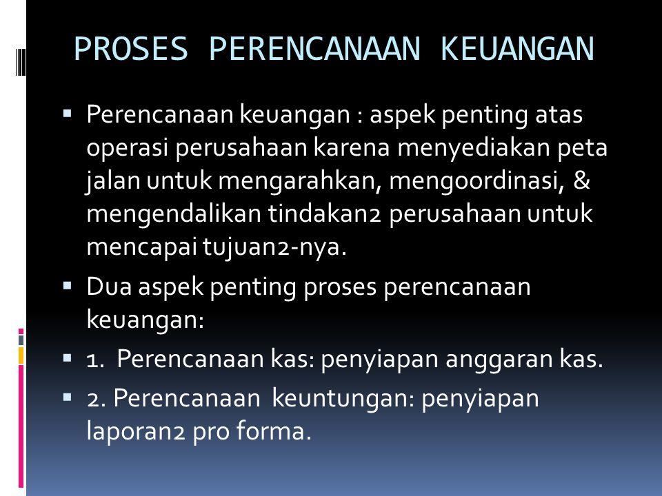 Arus Kas Bebas (CFC)  FCF: jumlah arus kas yang tersedia bagi para investor (para kreditor & para pemilik).  FCF = OCF – NFAI – NCAI.  NFAI = Perub