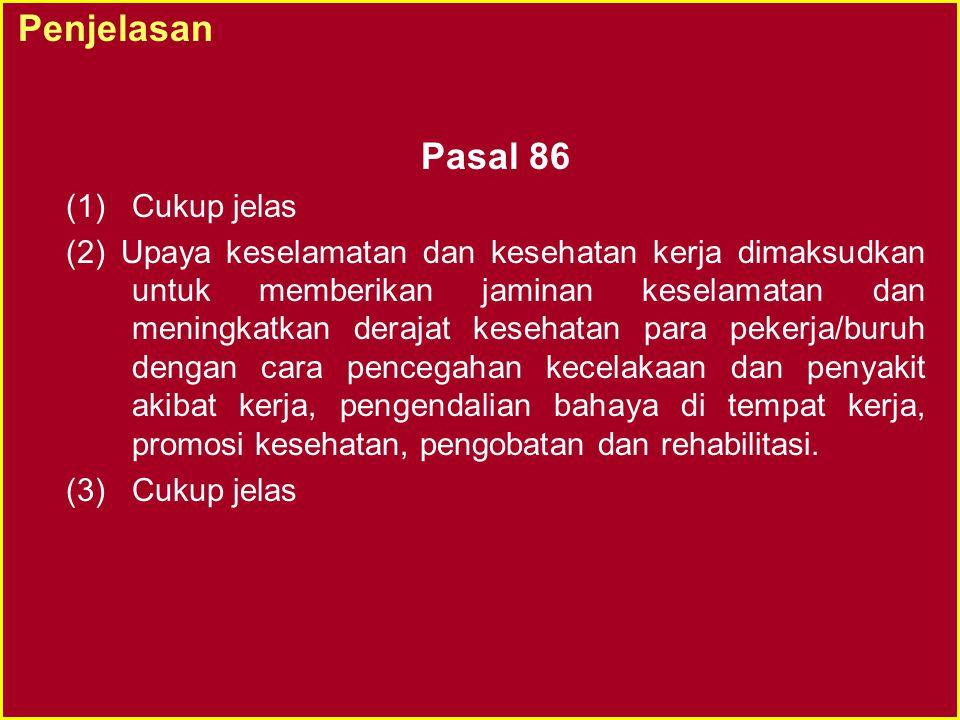 PERATURAN PELAKSANAAN UU No.1 Tahun 1970 - 8 •Pendekatan Kelembagaan dan Sistem - Per.Menaker No.