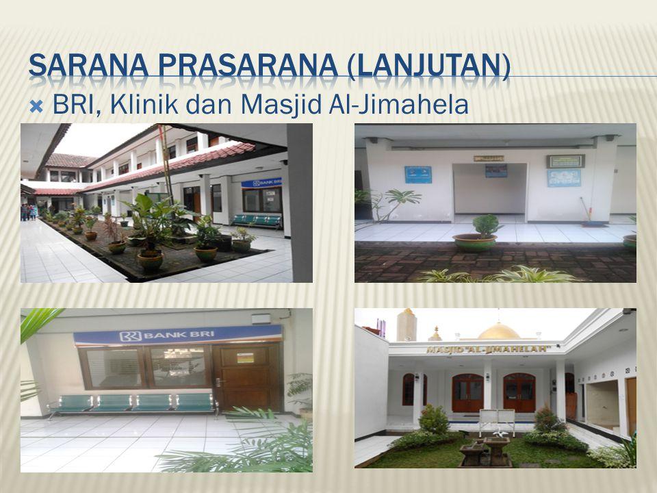  BRI, Klinik dan Masjid Al-Jimahela