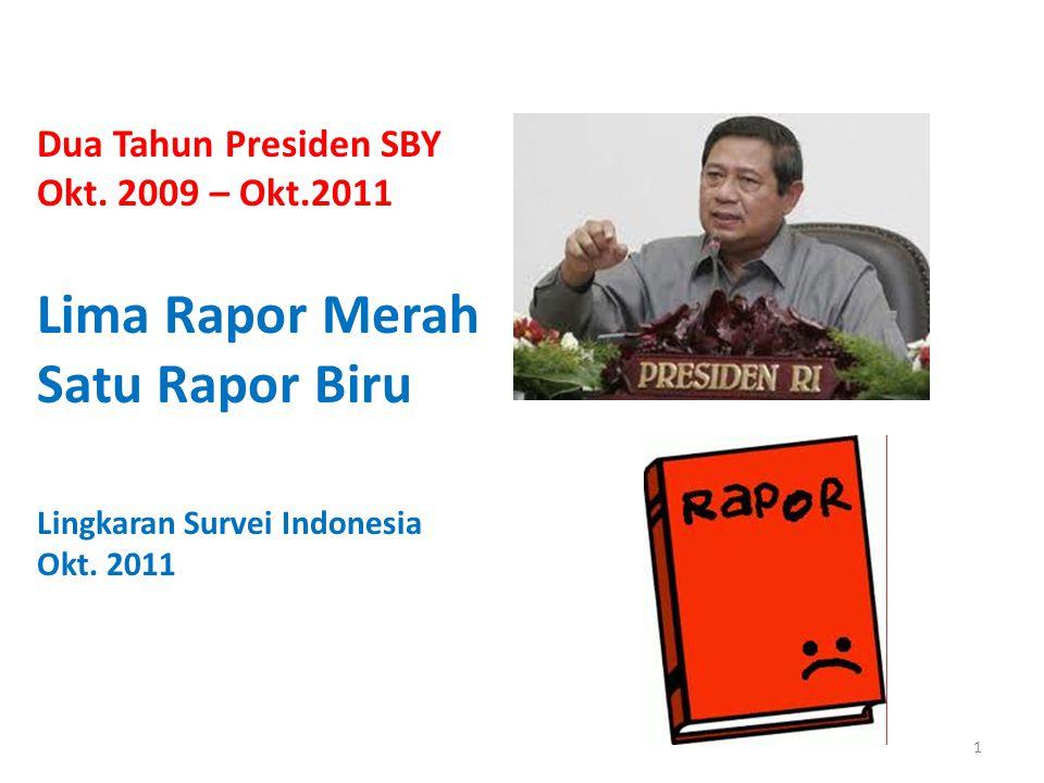 Dua Tahun Presiden SBY Okt.