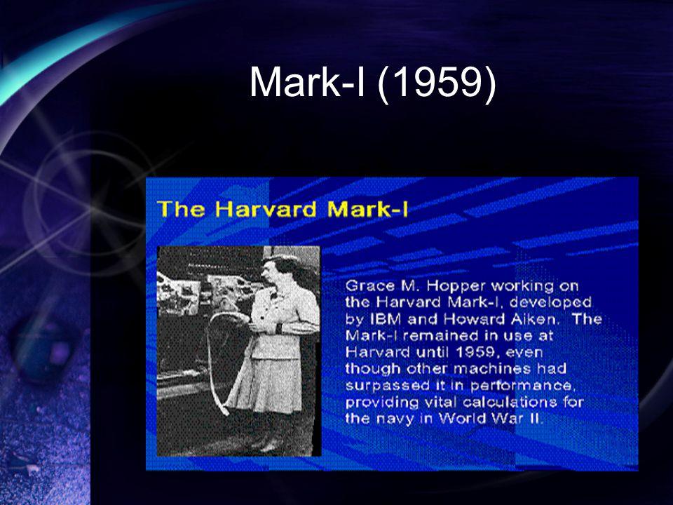 Mark-I (1959)