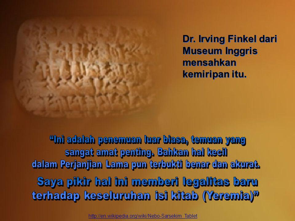http://en.wikipedia.org/wiki/Nebo-Sarsekim_Tablet Dr.