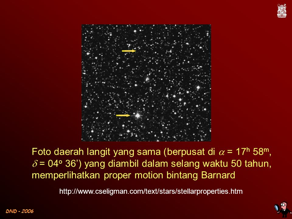 DND - 2006  Selain bergerak mengitari pusat galaksi, bintang- bintang juga bergerak secara lokal dengan kecepatan  10 km/det.
