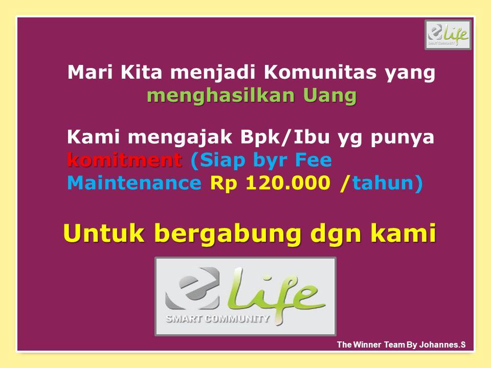 menghasilkan Uang Mari Kita menjadi Komunitas yang menghasilkan Uang komitment Kami mengajak Bpk/Ibu yg punya komitment (Siap byr Fee Maintenance Rp 1