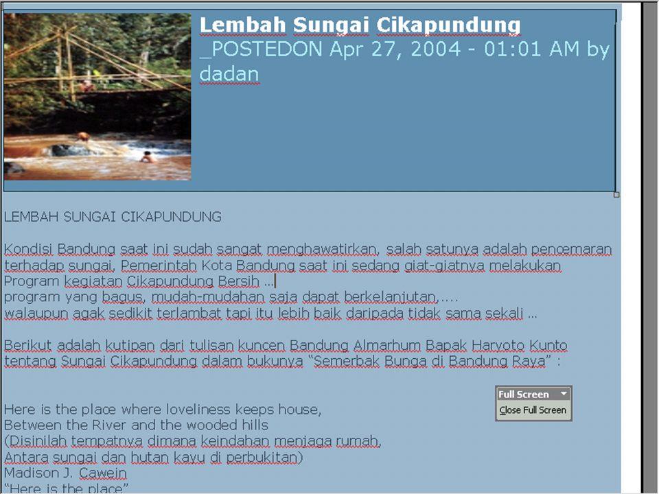 Lebih dari 90 % Air Sumur di Indonesia, khususnya Jakarta tercemar oleh bakteri E-coli