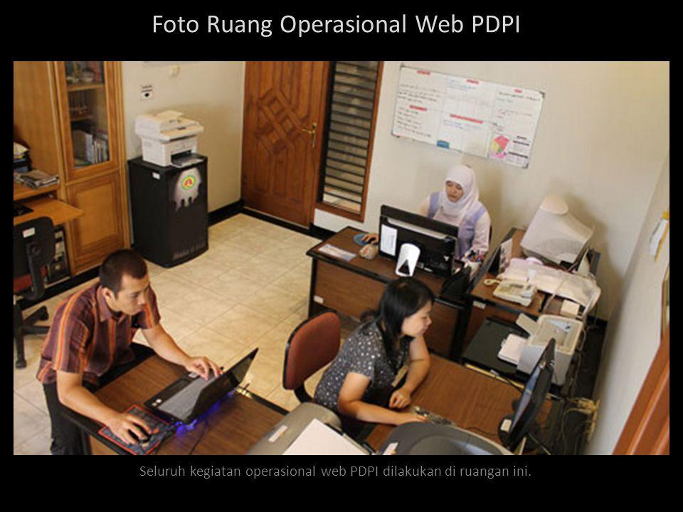Daily Update Update web PDPI dilakukan setiap hari