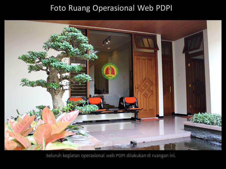 Maintenance web PDPI Pemeliharaan web PDPI, agar kinerja web tetap baik & maksimal