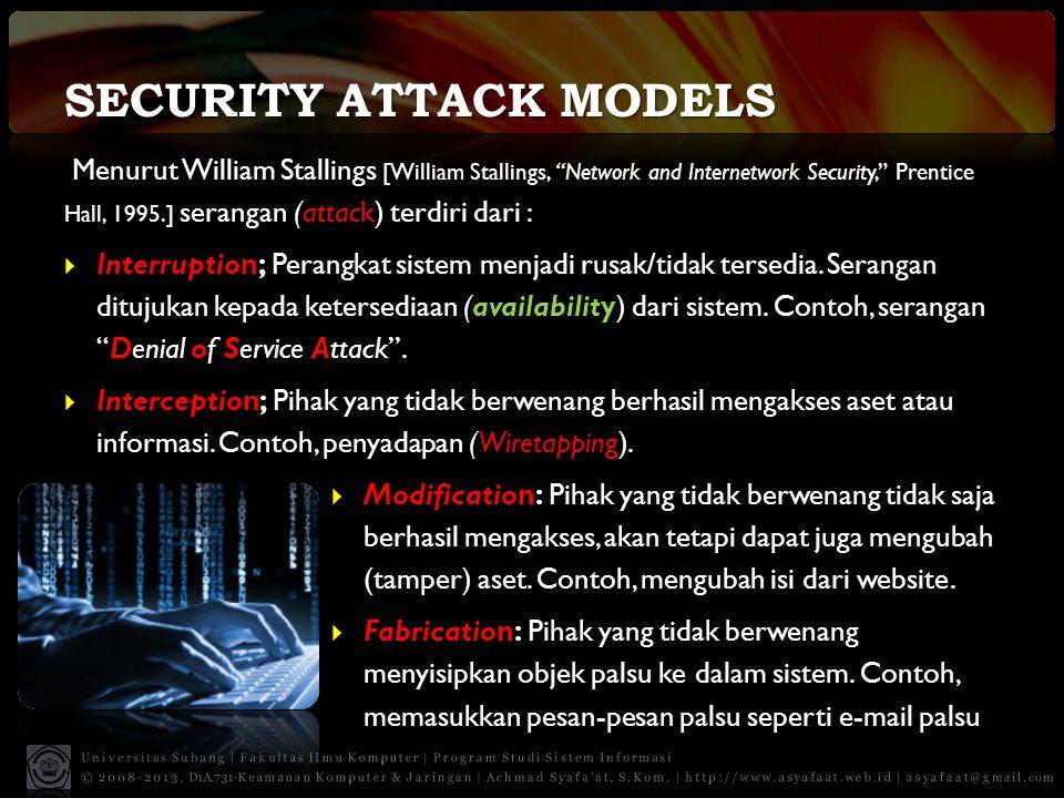 Tiga Pilar Utama Keamanan Informasi 1.
