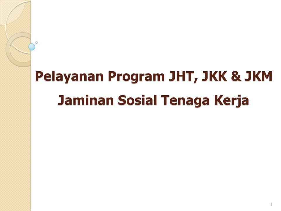 Pelayanan Program JHT, JKK & JKM Jaminan Sosial Tenaga Kerja 1