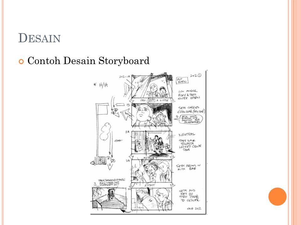 D ESAIN Contoh Desain Storyboard