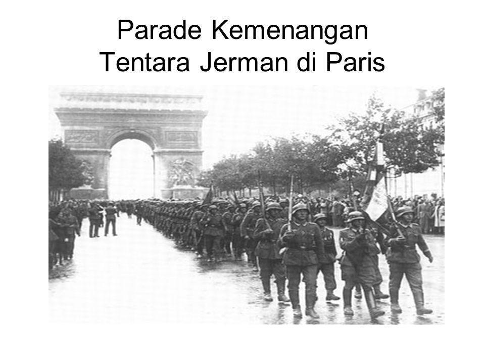 Parade Kemenangan Tentara Jerman di Paris