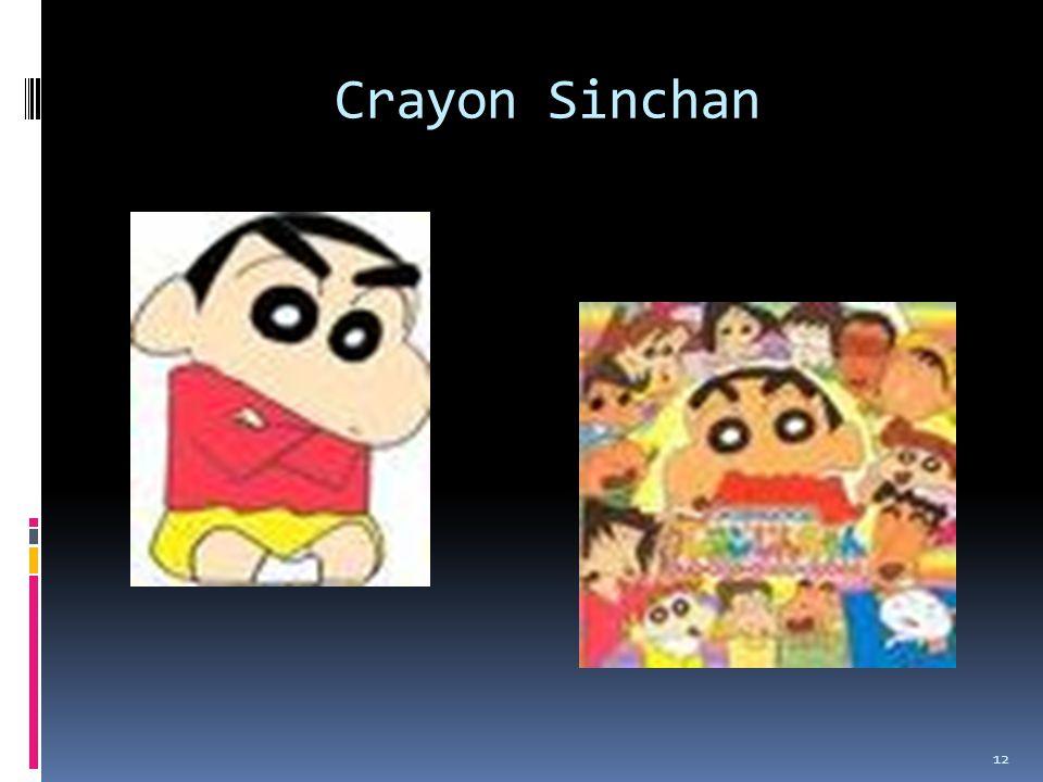 Crayon Sinchan 12