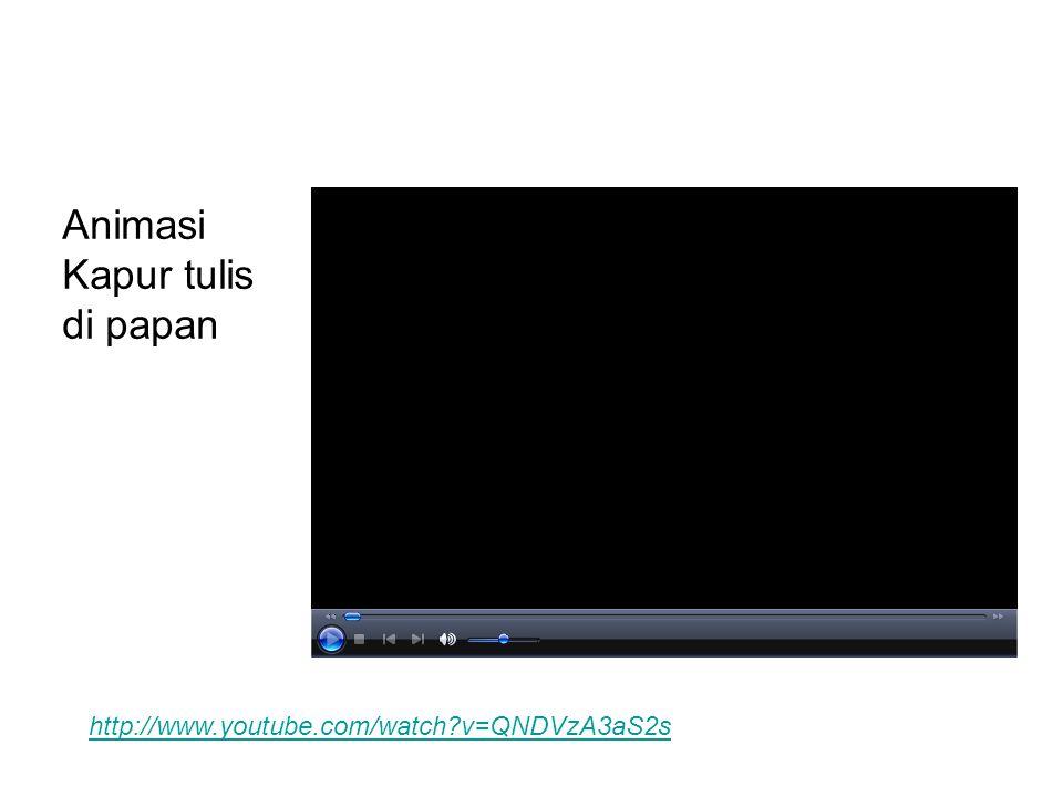 Animasi Kapur tulis di papan http://www.youtube.com/watch?v=QNDVzA3aS2s