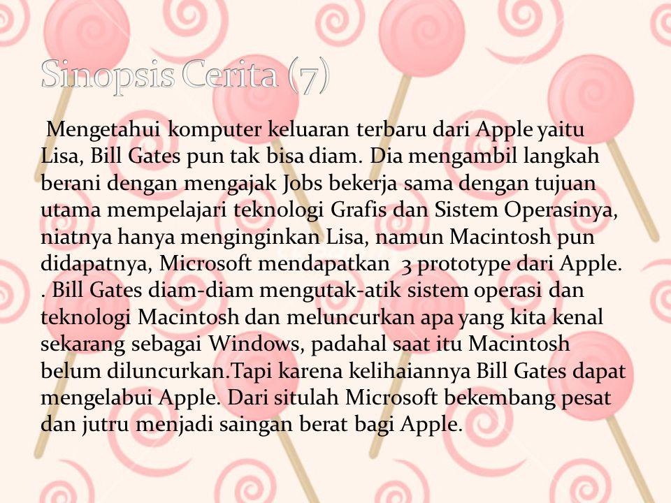 Mengetahui komputer keluaran terbaru dari Apple yaitu Lisa, Bill Gates pun tak bisa diam.