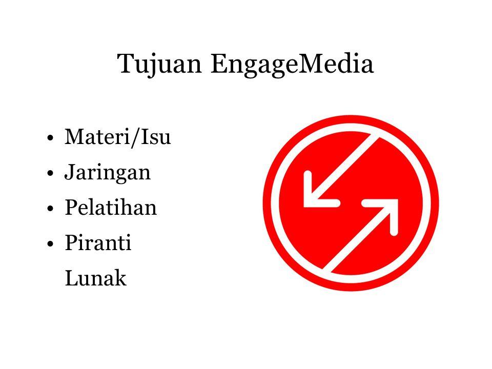 EngageMedia Facebook App • EngageMedia Latest Videos •Pakai RSS2 Vodcast channel •Install app ke profile •Lihat video terbaru •(lakukan dengan Firefox)