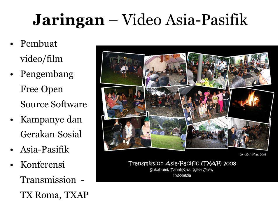 Pelatihan - Online Video •Perkakas Online video •Kompresi Video •Lisensi Materi Yang Terbuka •FOSS (Free Open Source Software)