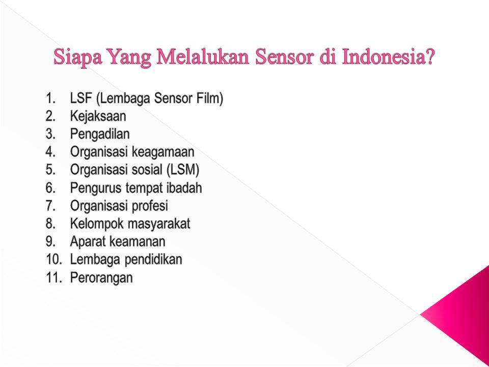 Contoh Kriteria Sensor (lanjutan)