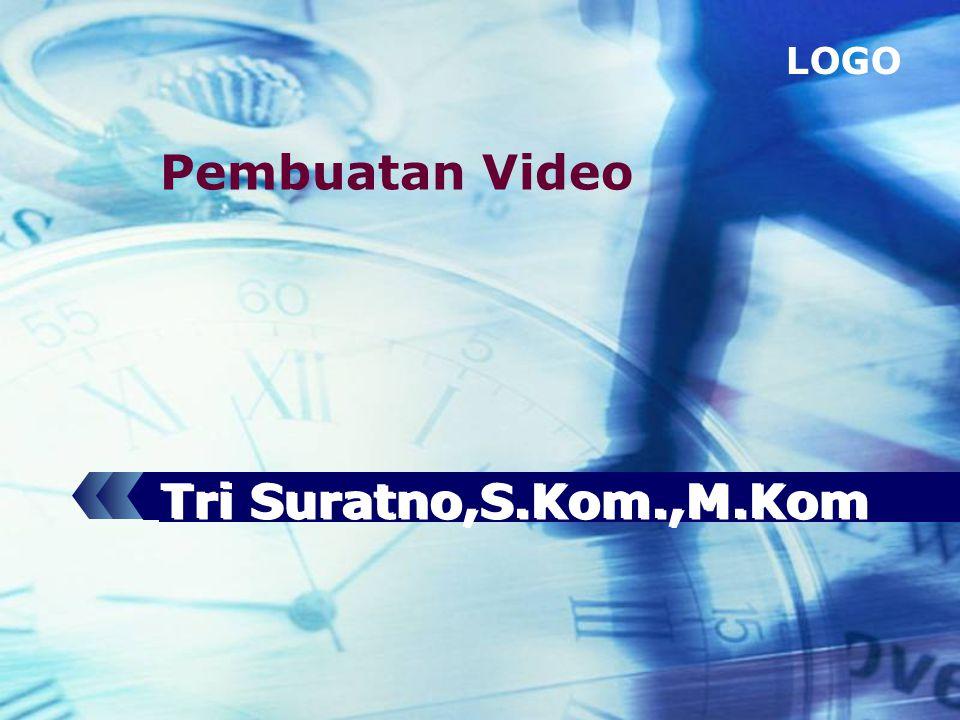 LOGO Tri Suratno,S.Kom.,M.Kom Pembuatan Video