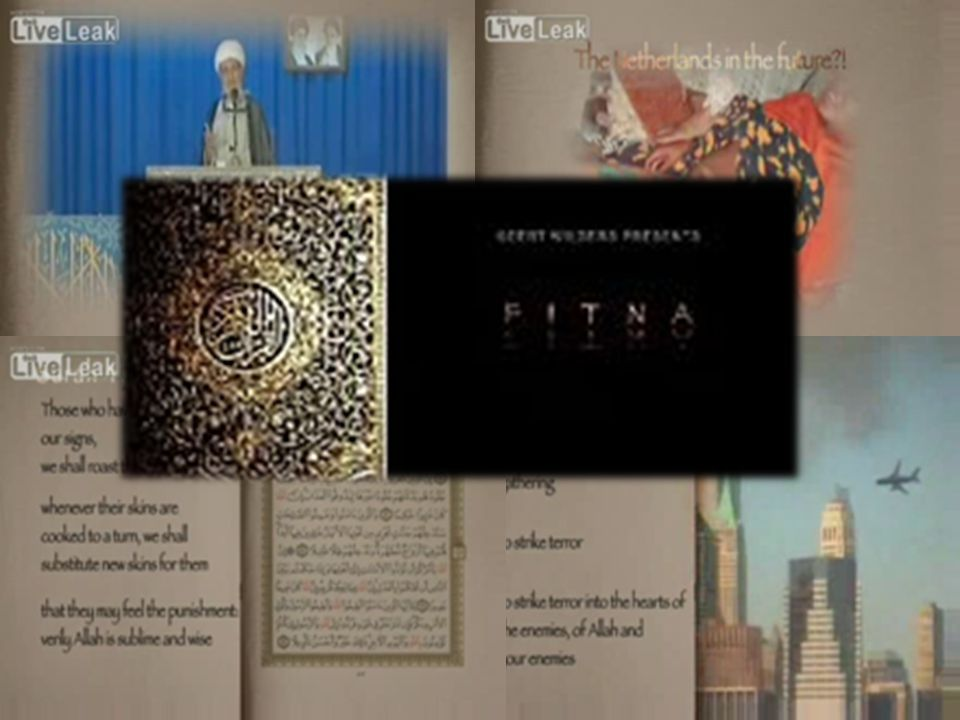 Credit Tile Film Fitna The film s title comes from the Arabic word fitna which is used to describe disagreement and division among people , or a test of faith in times of trial ..