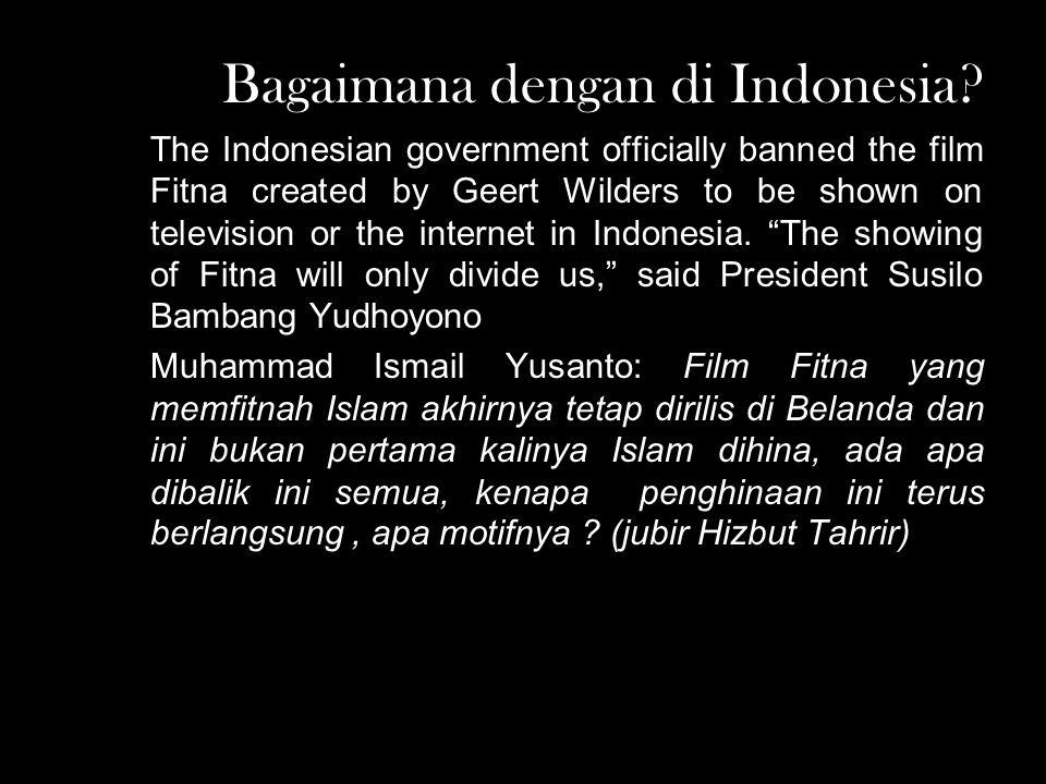 Bagaimana dengan di Indonesia.
