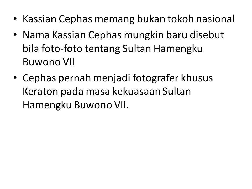 Sultan Hamengku Buwono VII karya Kassian Cephas Kassian Cephas