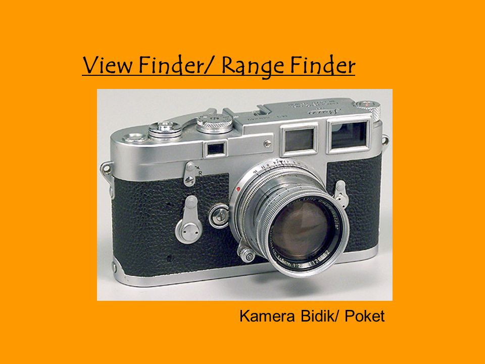 View Finder/ Range Finder Kamera Bidik/ Poket
