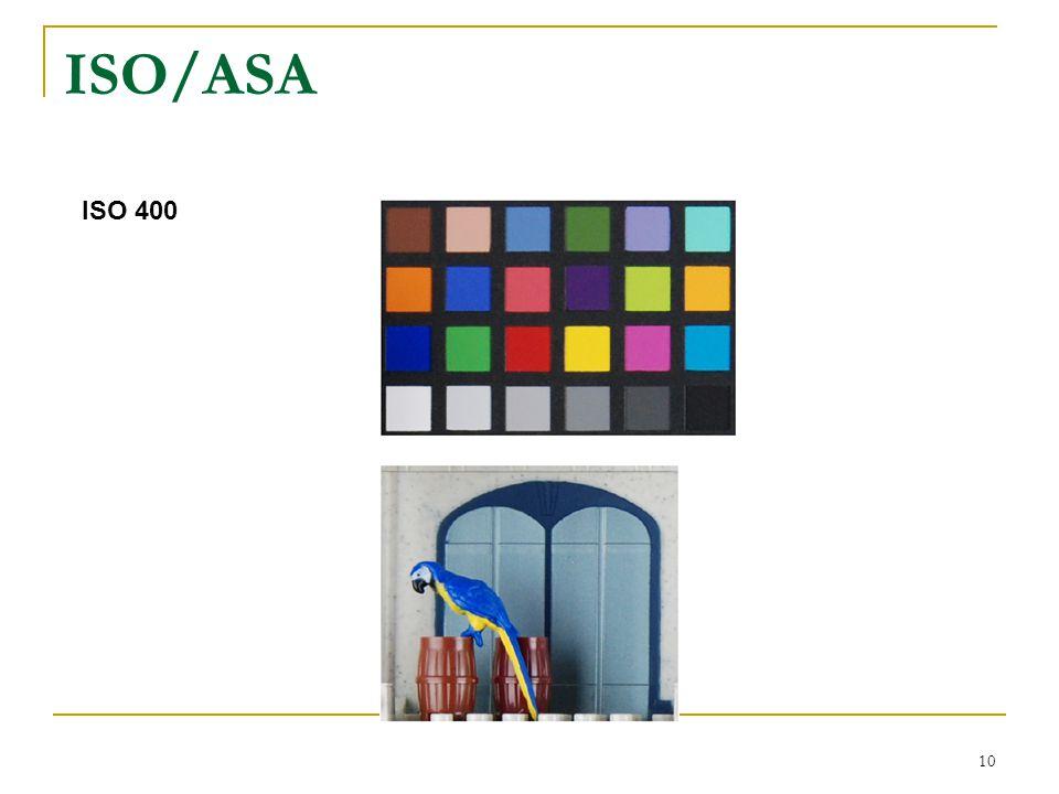 10 ISO/ASA ISO 400
