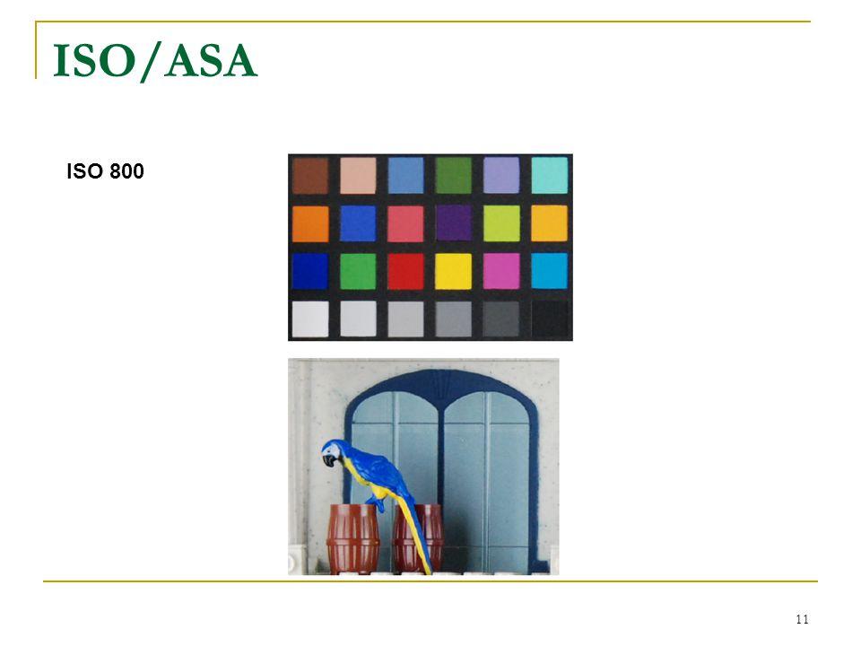 11 ISO 800 ISO/ASA