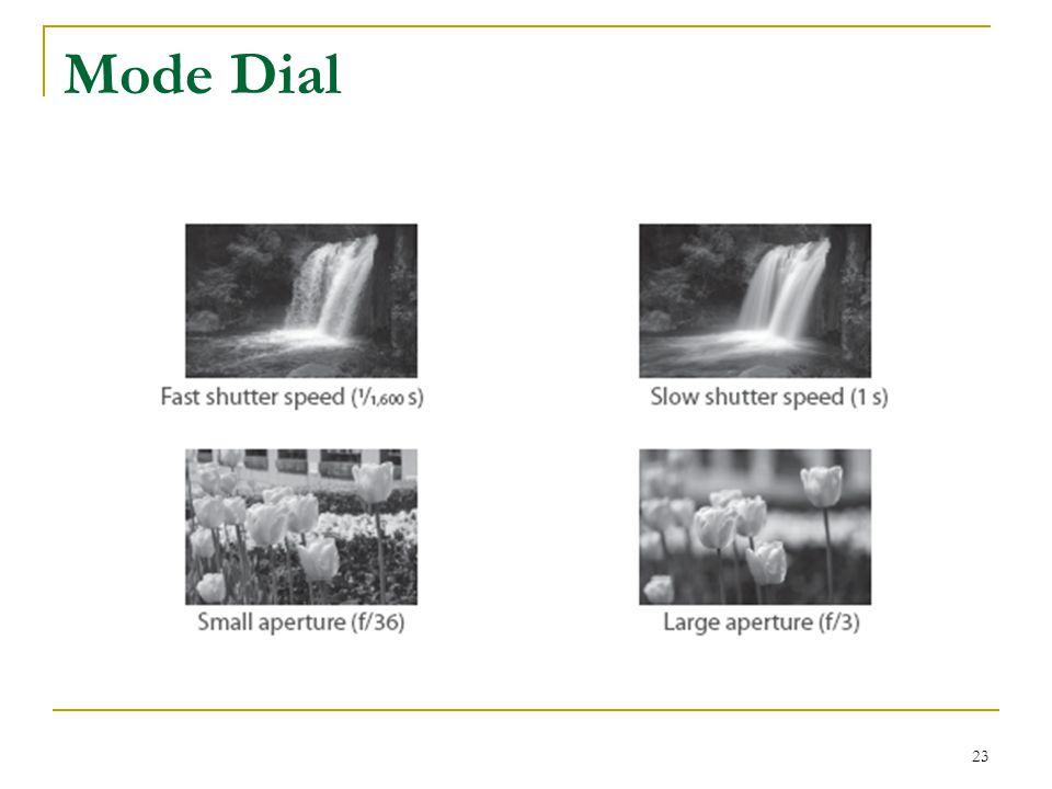 23 Mode Dial