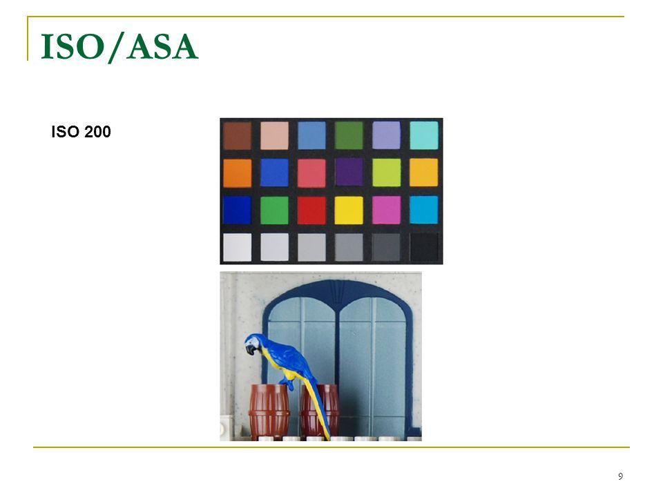 9 ISO 200 ISO/ASA