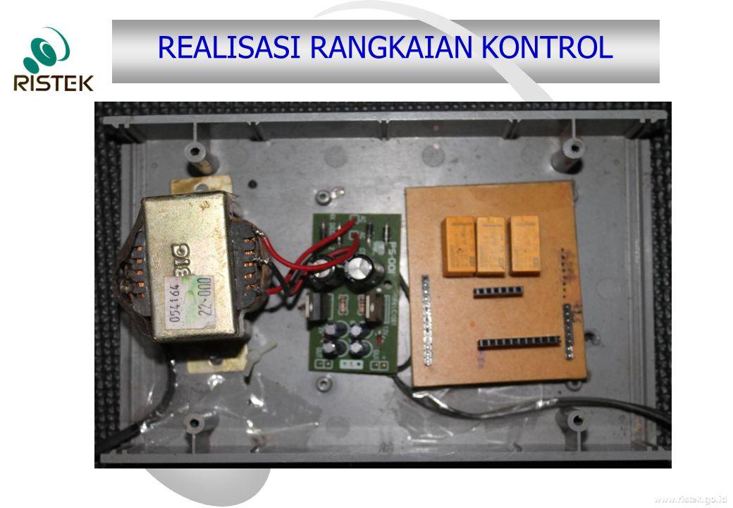 www.ristek.go.id REALISASI RANGKAIAN KONTROL