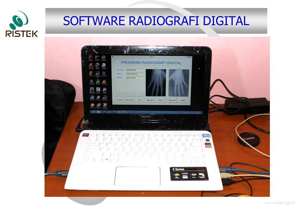 www.ristek.go.id SOFTWARE RADIOGRAFI DIGITAL