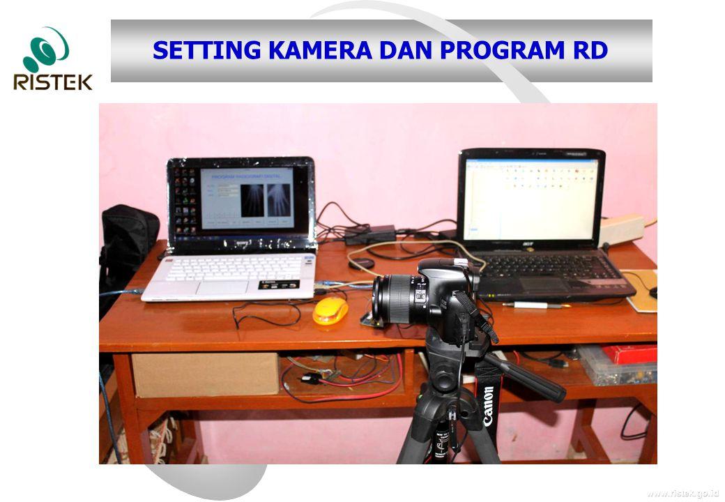 www.ristek.go.id SETTING KAMERA DAN PROGRAM RD