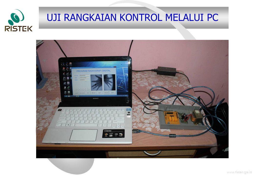 www.ristek.go.id UJI RANGKAIAN KONTROL MELALUI PC
