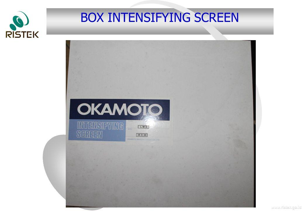 www.ristek.go.id BOX INTENSIFYING SCREEN