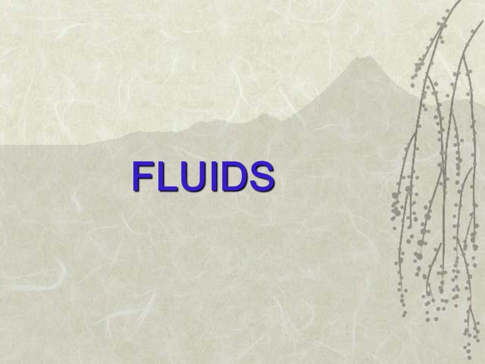 FLUIDS .WHAT IS A FLUID .