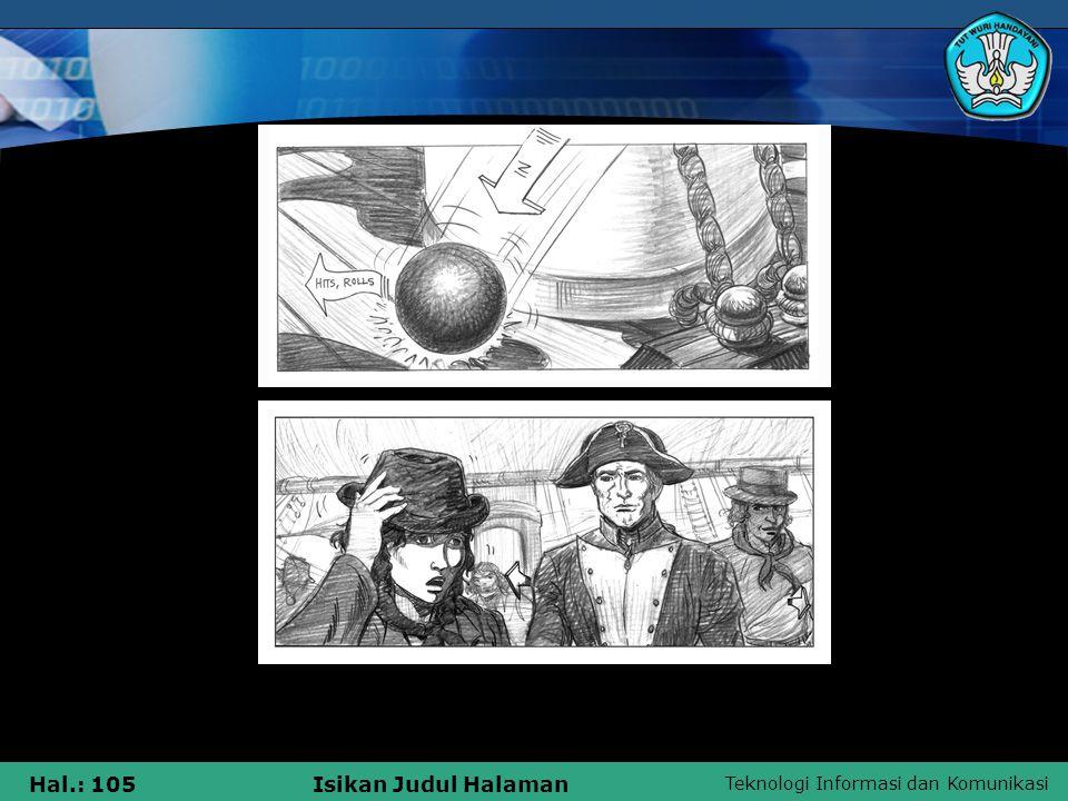 Teknologi Informasi dan Komunikasi Hal.: 105Isikan Judul Halaman