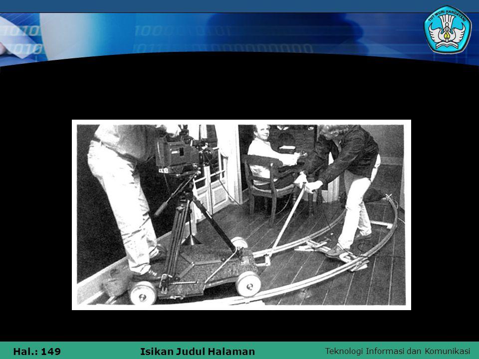Teknologi Informasi dan Komunikasi Hal.: 149Isikan Judul Halaman Tracks