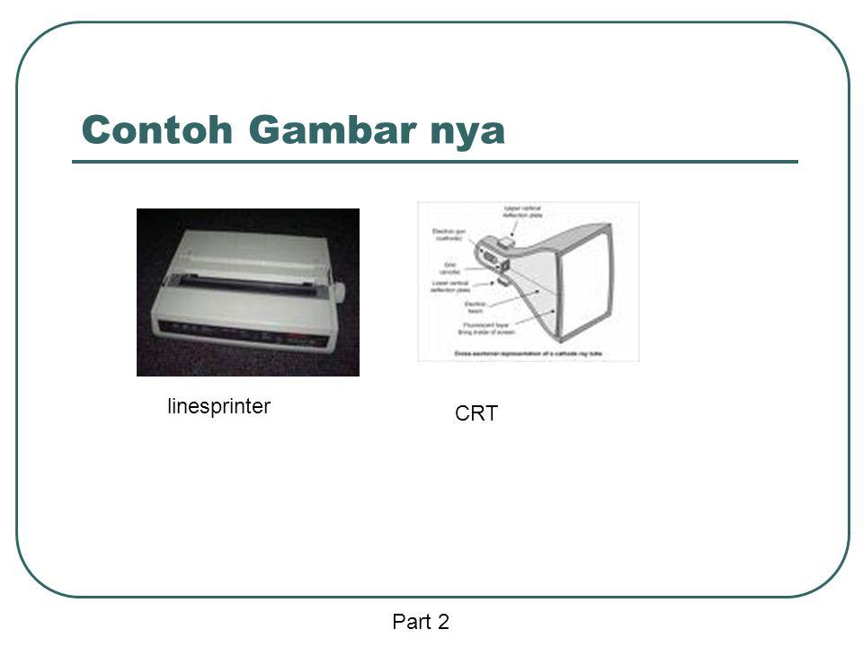 Contoh Gambar nya linesprinter CRT Part 2