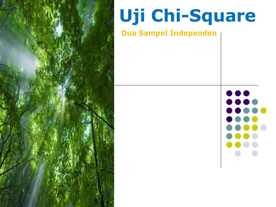 Uji Chi-Square Dua Sampel Independen