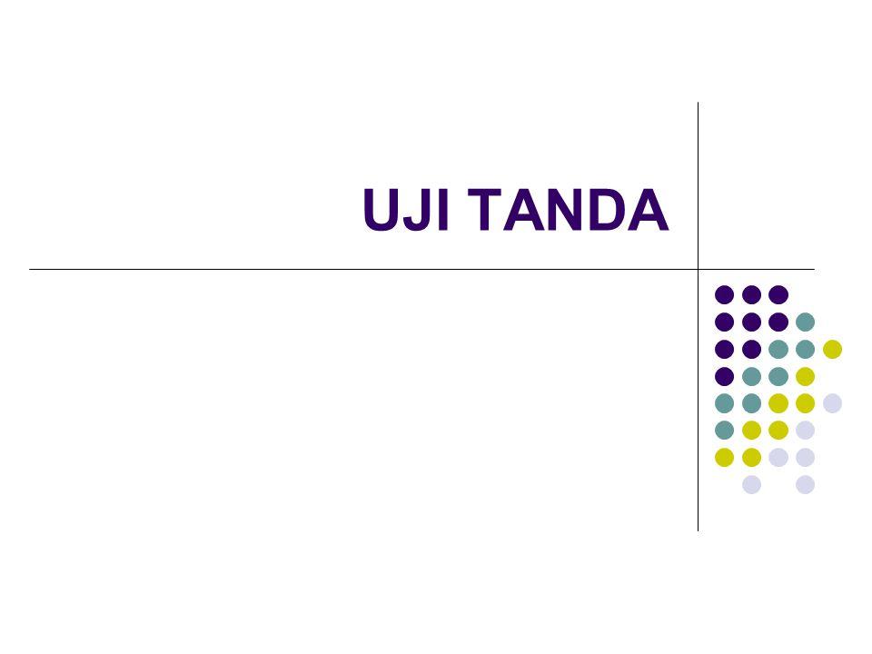 UJI TANDA