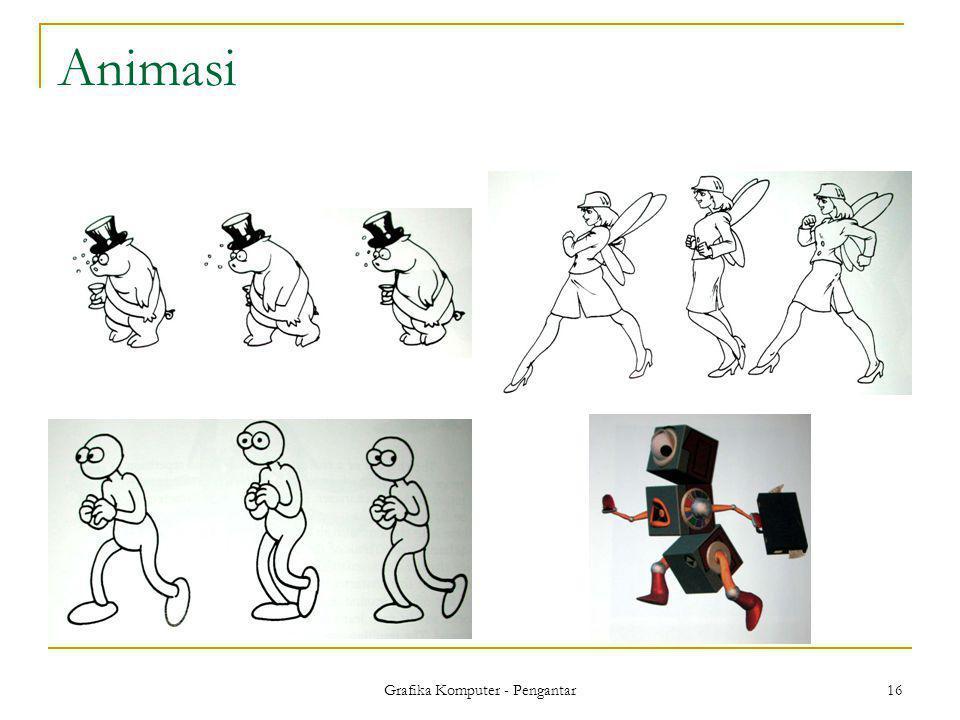 Grafika Komputer - Pengantar 16 Animasi