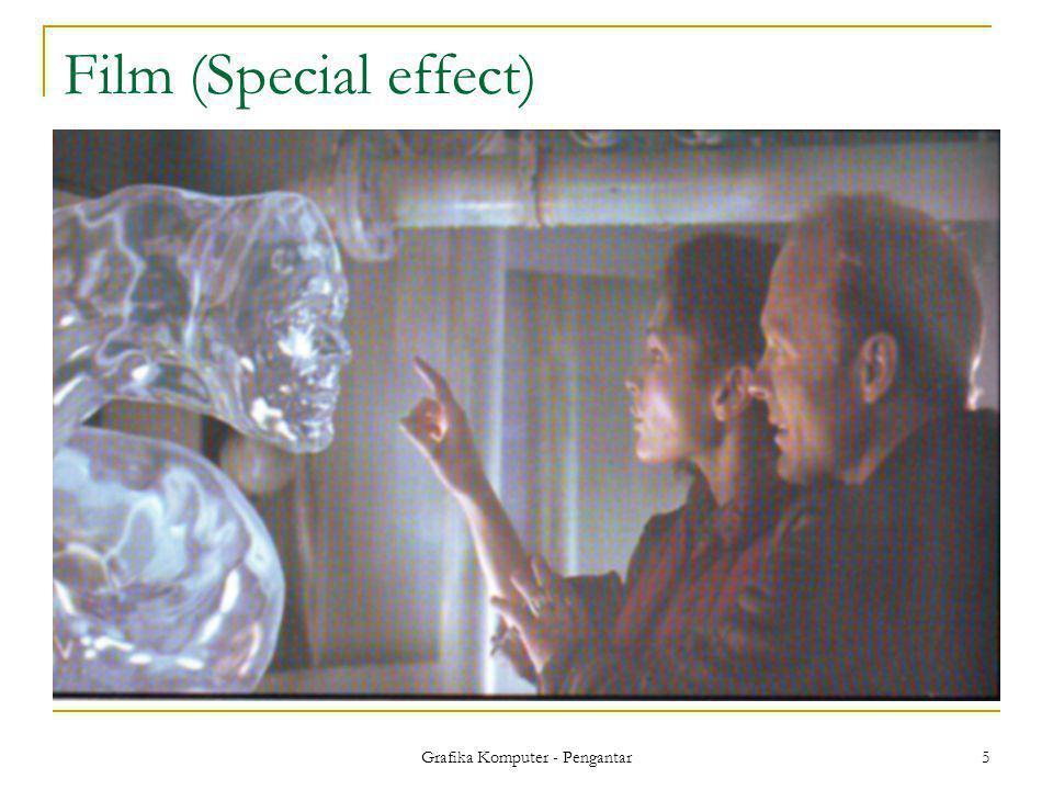 Grafika Komputer - Pengantar 5 Film (Special effect)