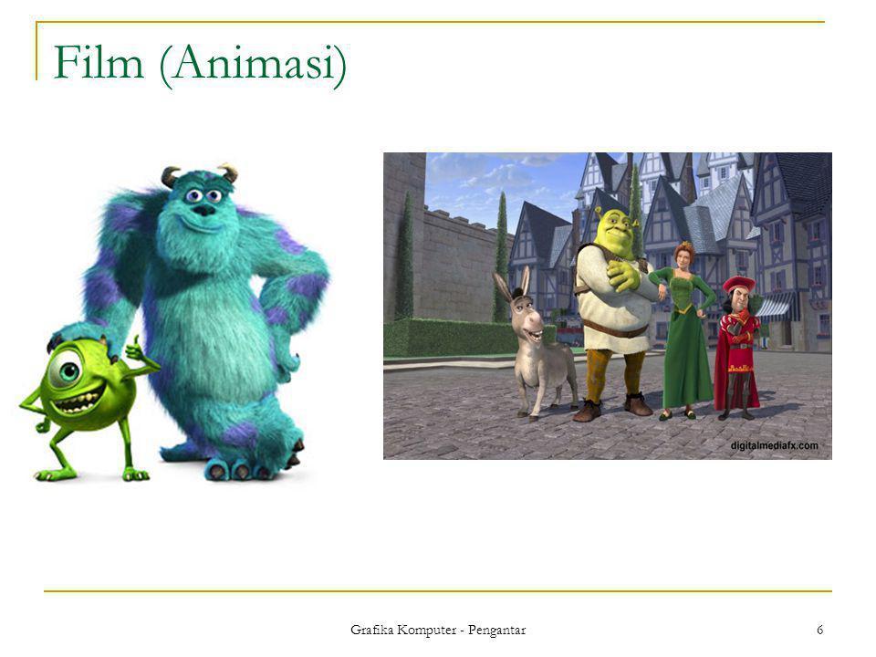 Grafika Komputer - Pengantar 6 Film (Animasi)