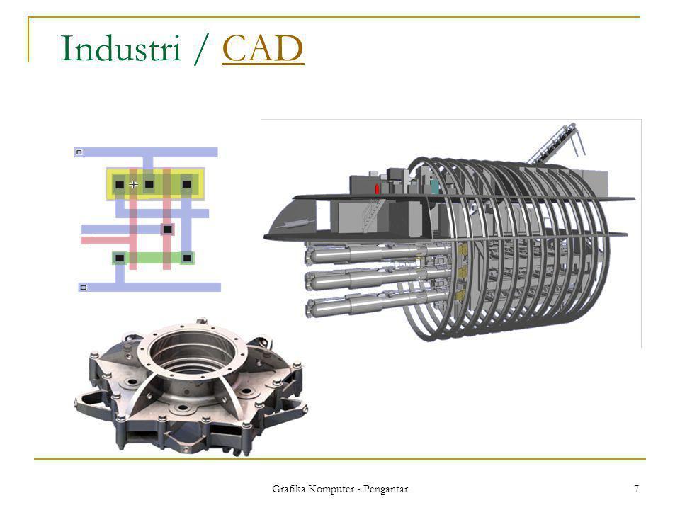 Grafika Komputer - Pengantar 7 Industri / CADCAD