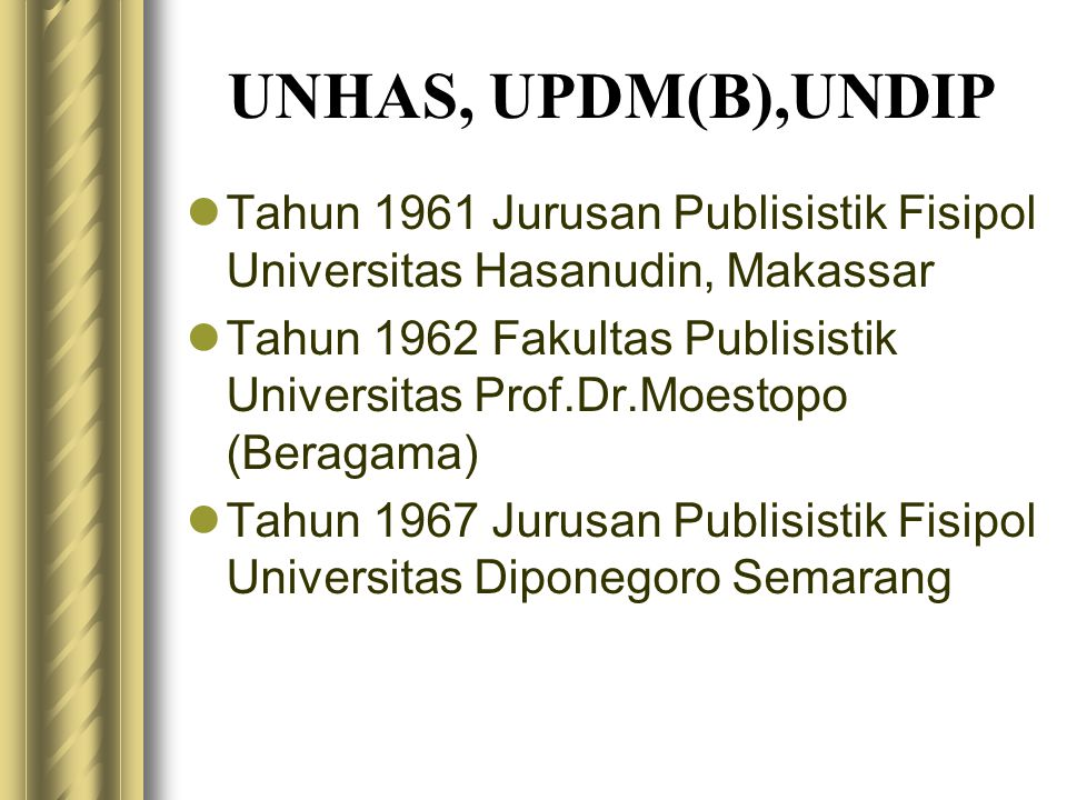  MEDIATED AND TELECOMMUNICATION 1.Computer and Information Sciences and Support Services 2.Communication, Journalism, and Related Fields, Other 3.Info detail: Bidang2 Ilmu Komunikasi\NCA\bidang kajian.docxBidang2 Ilmu Komunikasi\NCA\bidang kajian.docx
