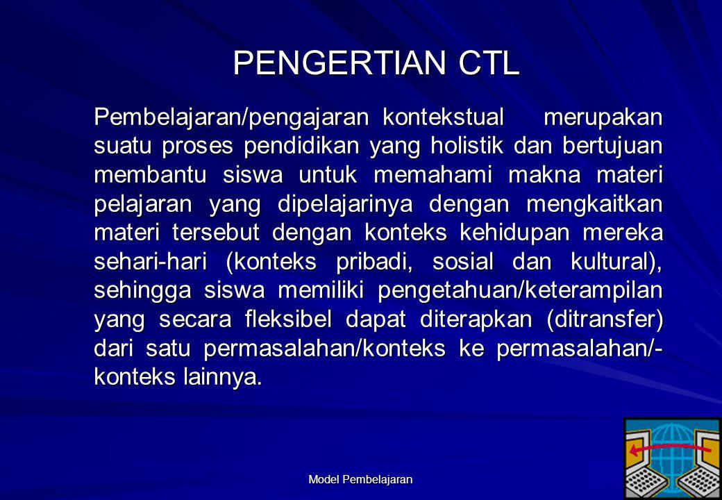 Model Pembelajaran 50 Contextual Teaching and Learning (CTL)