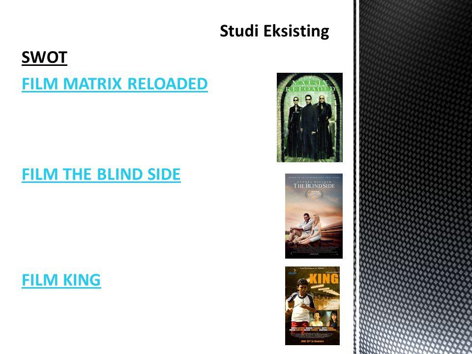 SWOT FILM MATRIX RELOADED FILM THE BLIND SIDE FILM KING Studi Eksisting