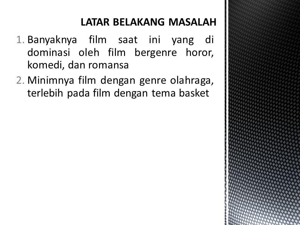 Berdasarkan uraian latar belakang tersebut di atas, maka perumusan masalah dalam pembuatan film ini dapat diuraikan sebagai berikut: 1.Bagaimana membuat film pendek bergenre drama olahraga yang berjudul ASA.