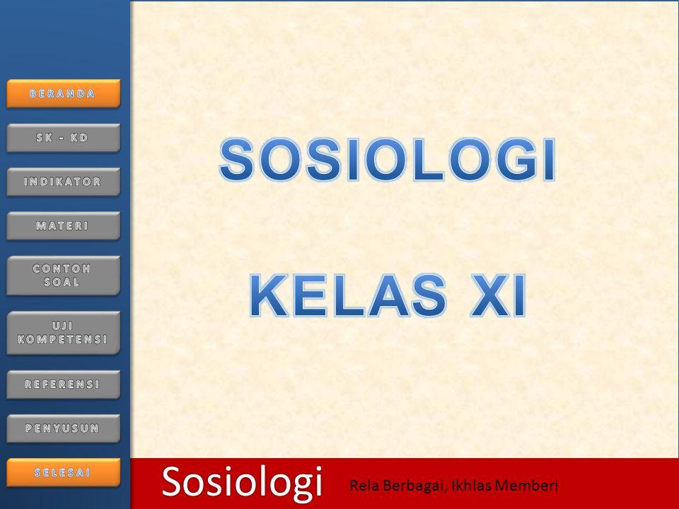 6/25/2014126/25/2014 Sosiologi Rela Berbagai, Ikhlas Memberi Konflik Antar Invidu